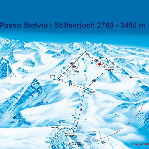 Stelvio Gletscher