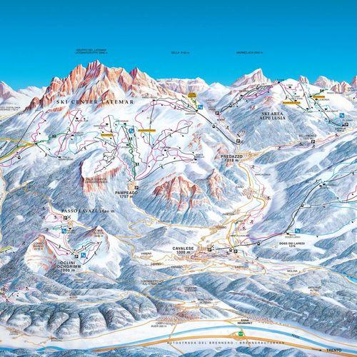 Val di Fiemme - Latemar - Obereggen