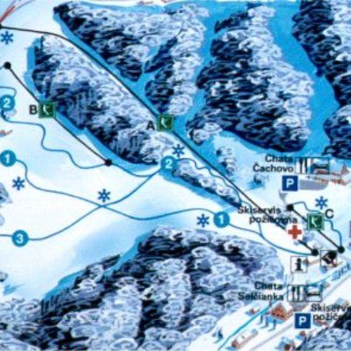 Lyžiarske stredisko Selce - Čachovo