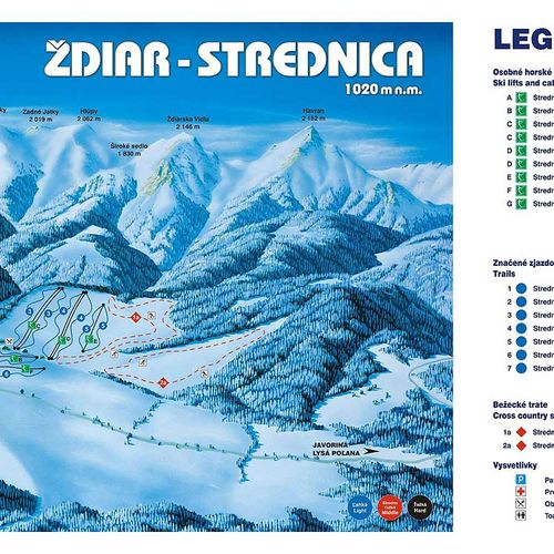 Skicentrum Strednica Ždair