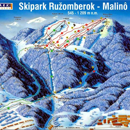 Skipark Ružomberok - Malinô Brdo